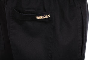 Theories Stamp Lounge Pant Black