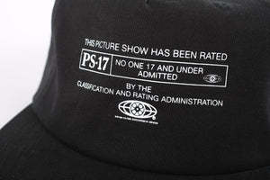 Picture Show PS-17 Strapback Hat Black