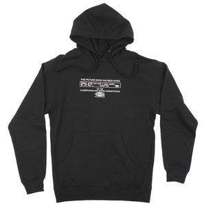 Picture Show PS-17 Hoodie Black Front