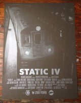 "Static IV 18"" x 24"" Silk Screened Poster"