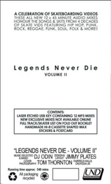 Legends Never Die Volume 2 Audio Mix