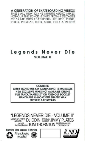 Legends Never Die Volume Audio Box Set