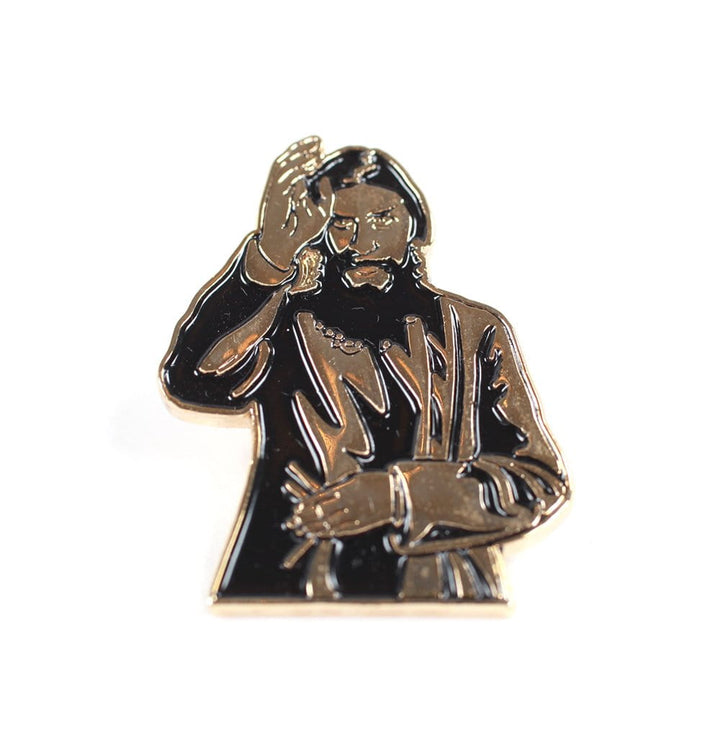 Theories Rasputin Enamel Pin FRONT