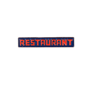 Theories Seinfeld Restaurant Enamel Pin