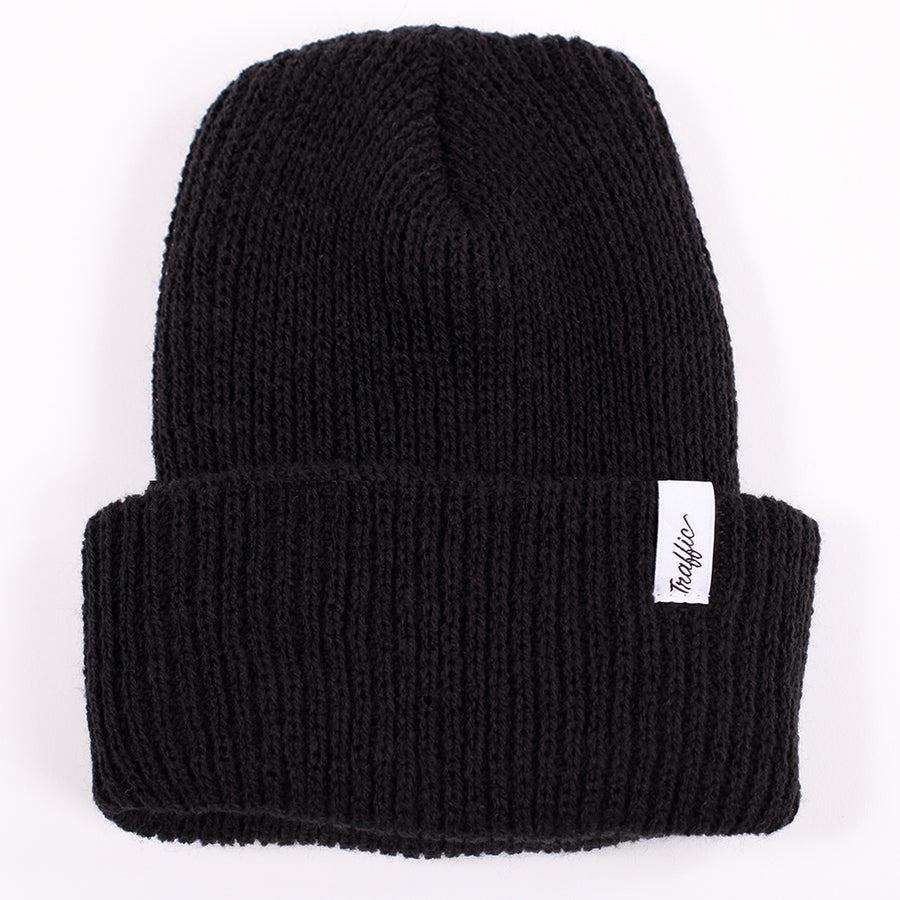 traffic_script_beanie_black