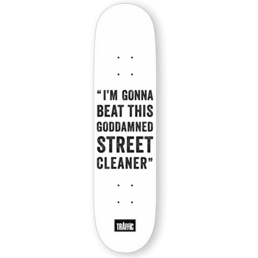 Traffic Skateboards Street Cleaner Deck