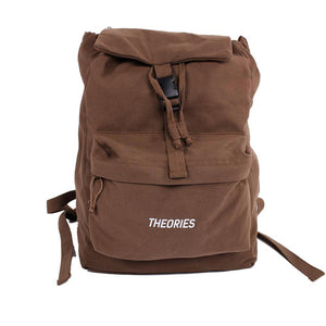 Theories Stamp Camper Bag Brown front