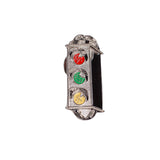 Traffic Skateboards Light Crest Enamel Pin