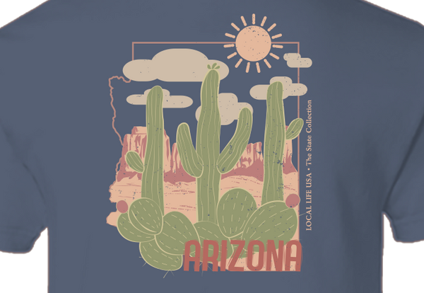 Arizona Short Sleeve Tee