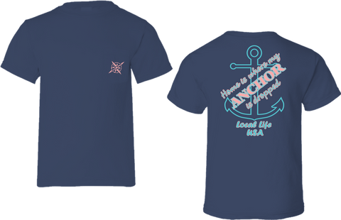 Home Anchor Short Sleeve Tee