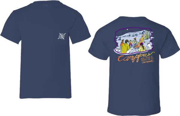 Campfire Party Short Sleeve Tee