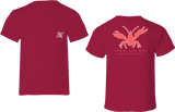 Crawfish Outline Short Sleeve Tee