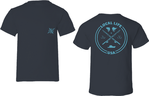 Deep Sea Fishing Short Sleeve Tee