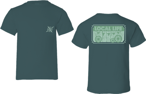 Rustic Local Life Short Sleeve Tee
