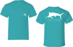 Marlin Outline Short Sleeve Tee