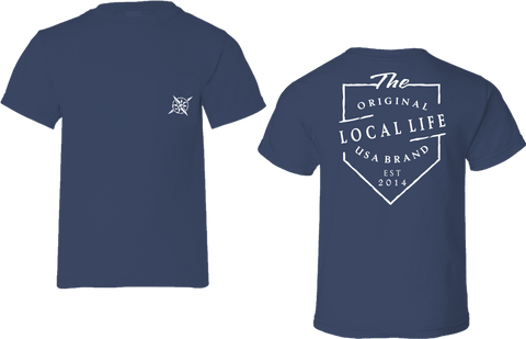 Original Local Life USA Brand Short Sleeve Tee