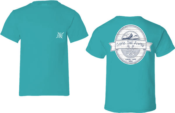 Sail Away Short Sleeve Tee