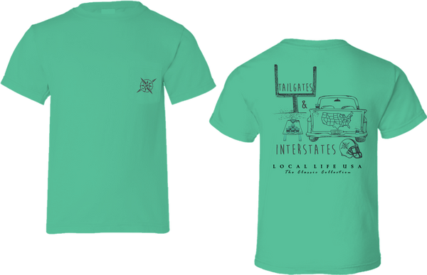 Tailgates & Interstates Short Sleeve Tee