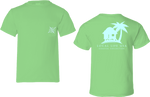 Tiki Hut Short Sleeve Tee