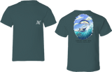 Yellowfin Tuna Coastal Collection Short Sleeve Tee