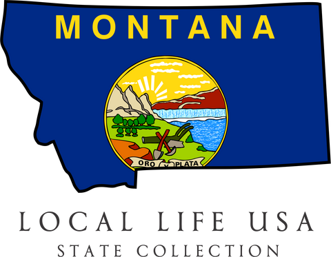 Montana State Collection Tee