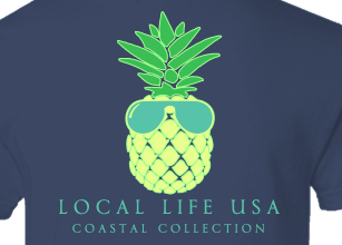 Pineapple Willy Short Sleeve Tee