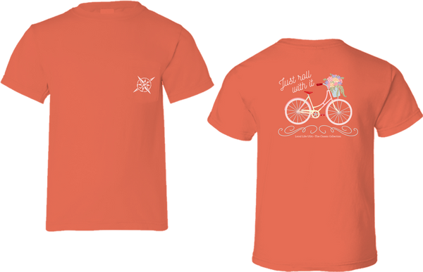 Cute Bicycle Short Sleeve Tee