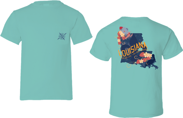 Louisiana Short Sleeve Tee