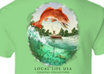 Redfish Coastal Collection Short Sleeve Tee