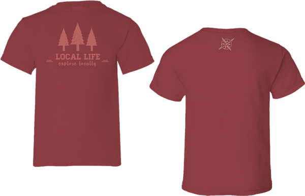 Explore Locally Short Sleeve Tee