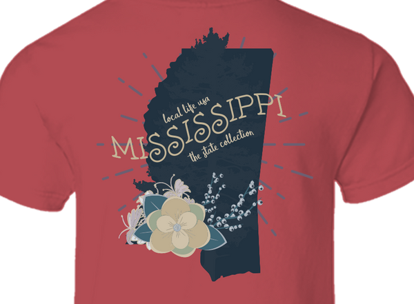 Mississippi Short Sleeve Tee
