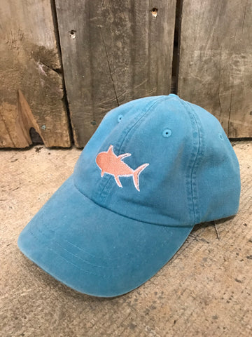 Buckleback Amberjack Outline Hat