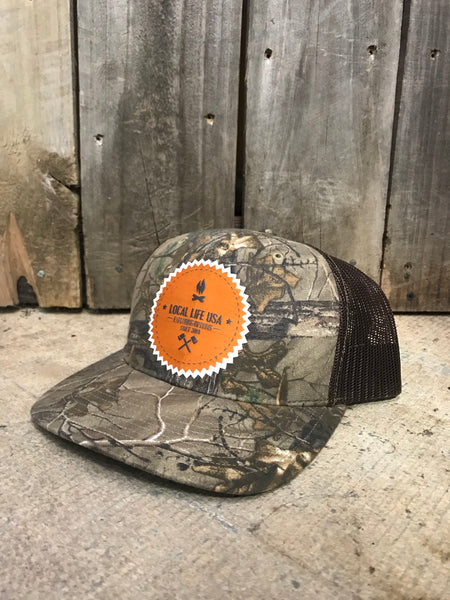 LOCAL LIFE CAMP PATCH HAT