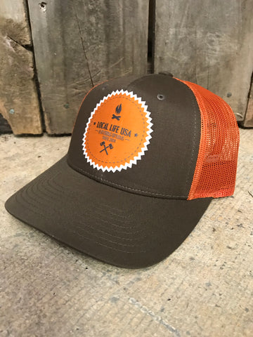 Local Life Exploring Options Patch Hat