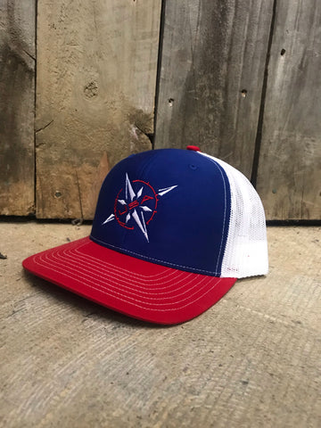 Patriotic Compass hat