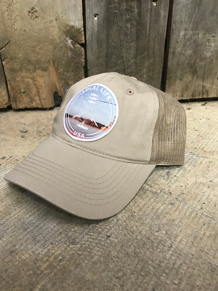 LOCAL LIFE EASY FISHING PATCH HAT