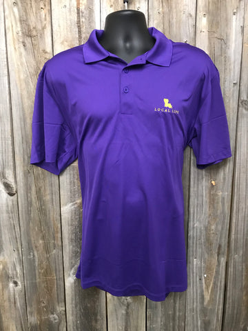 Geaux Tigers Game Day Polo