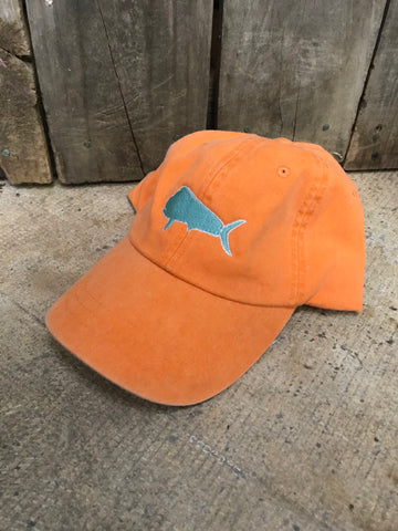 Buckleback Mahi Mahi Outline Hat