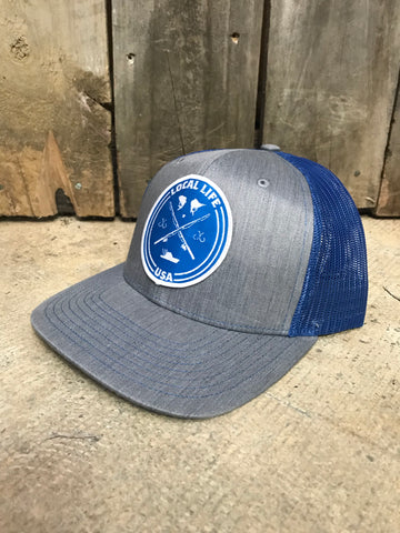 Local Life Deep Sea Fishing Patch Hat