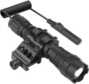 FL11 Tactical Flashlight 1200 Lumen LED Weapon Light with Picatinny Mount,