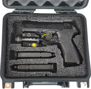 Single Pistol Pre-Cut Waterproof Case