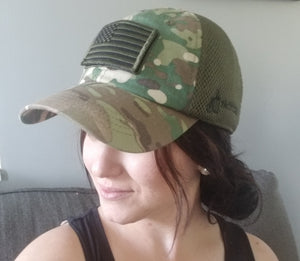 LIMITED EDITION: Tactical Cap with Flag Patch
