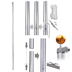 Service First Flagpole Kits (EASY DIY)