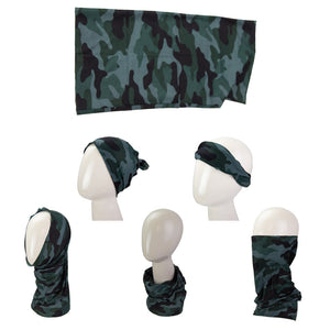 Camo Multi-Use Face Shield