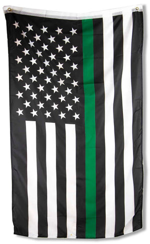 Thin Green Line Flag