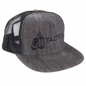 Limited Edition: Black on Grey Snapback