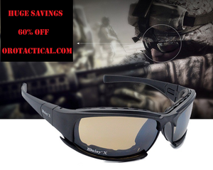 Polarized Tactical X7 Sunglasses (SHATTERPROOF)
