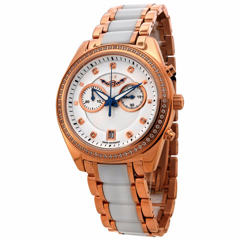 ISW WOMEN'S CHRONOGRAPH STAINLESS STEEL WATCH ISW-1007-03 - BrandNamesWatch.com