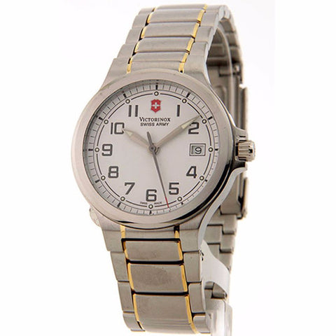 SWISS ARMY Victorinox Swiss Army Peak Li Dial White Stainless Steel Mens Watch 241278.CB - BrandNamesWatch.com