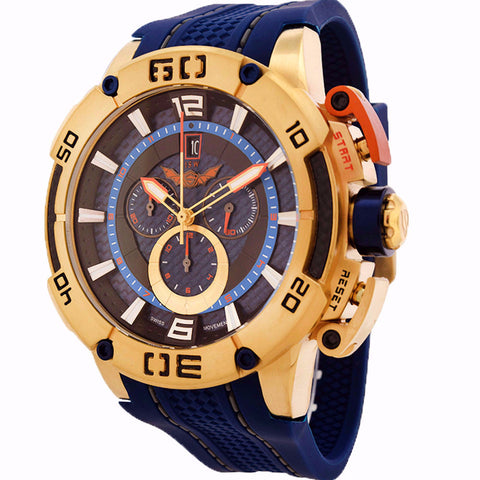ISW MEN'S CHRONOGRAPH STAINLESS STEEL WATCH ISW-1001-07 - BrandNamesWatch.com